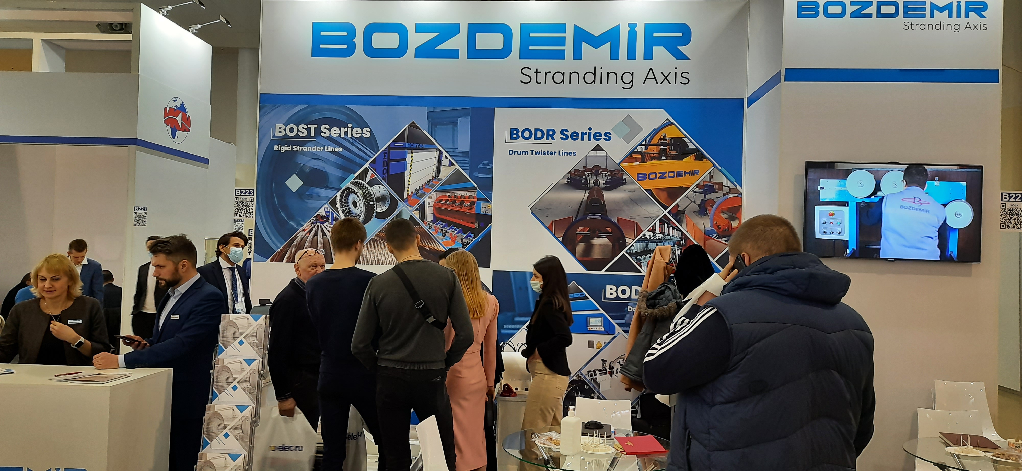 Cabex 2021 was held in Moscow